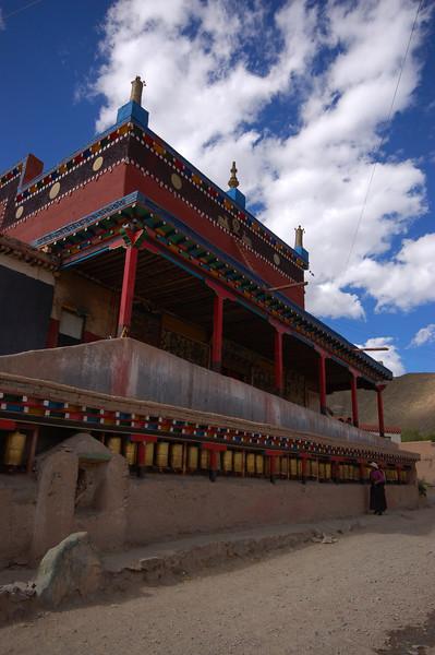 A small village temple