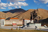 Yushu's giant statue of Tibetan King Gesar of Ling