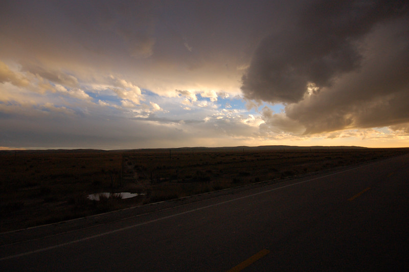 Views of the Qinghai plains from the sleeper bus