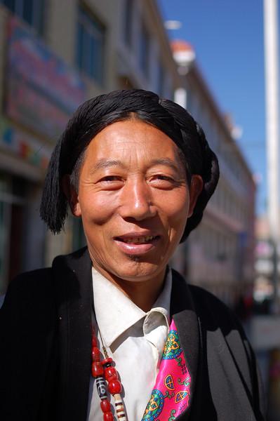 A local Tibetan