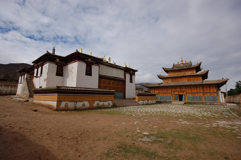 The 400 year-old Gomar Gompa