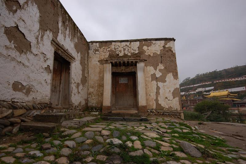 Doors of the monastery