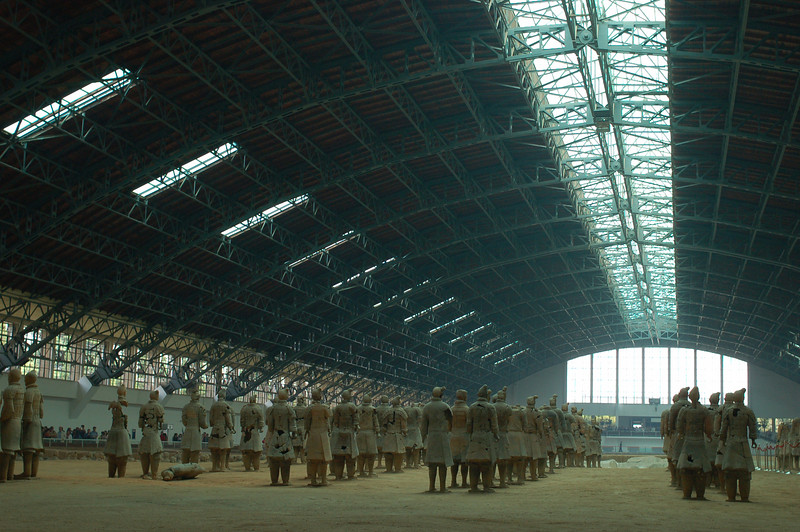 The Terracotta Warriors, Pit 1
