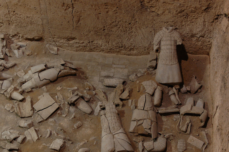Pieces of Qin Shi Huang's army, Pit 3