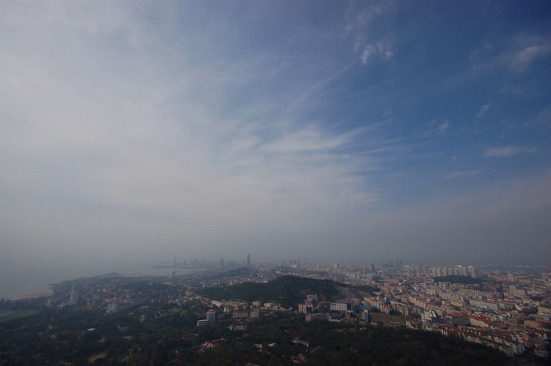 View from the Qingdao TV Tower