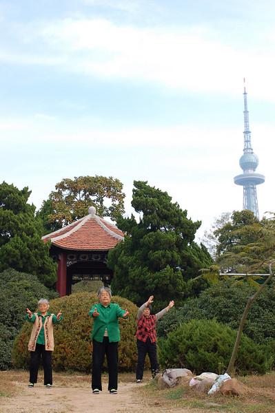 Taichi at Zhongshan Park