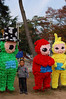 Teletubbies at Zhongshan Park