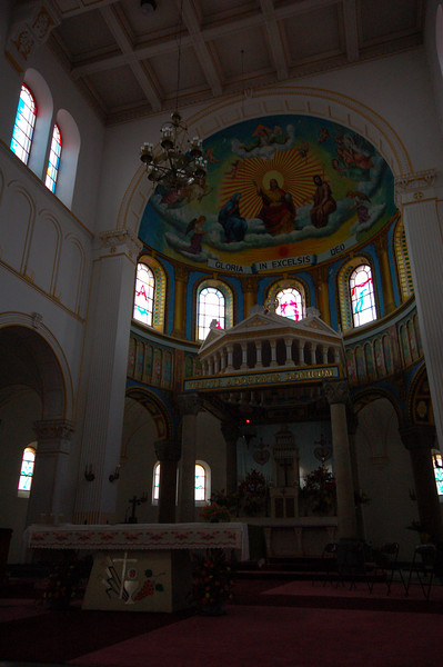 Inside St Michael's Catholic Church