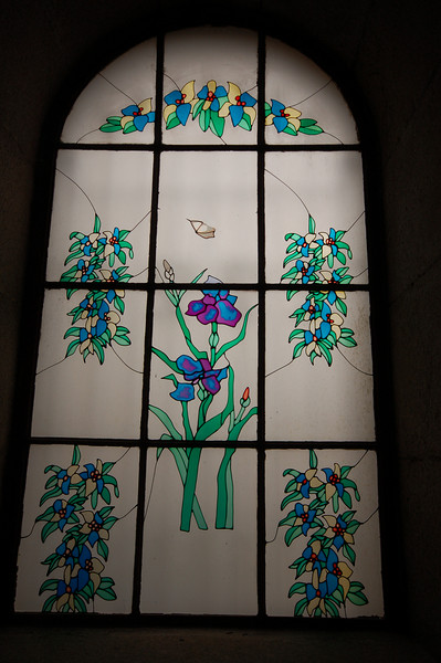 Window of the Qingdao Protestant Church