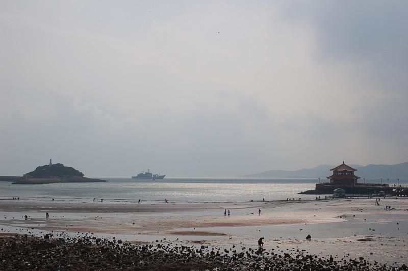 No. 6 bathing beach, in Qingdao Bay