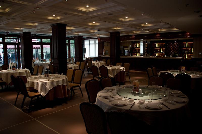 Inside Xin Yue Restaurant, JG Ballard's former home