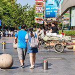 Walking Down Nanjing Road
