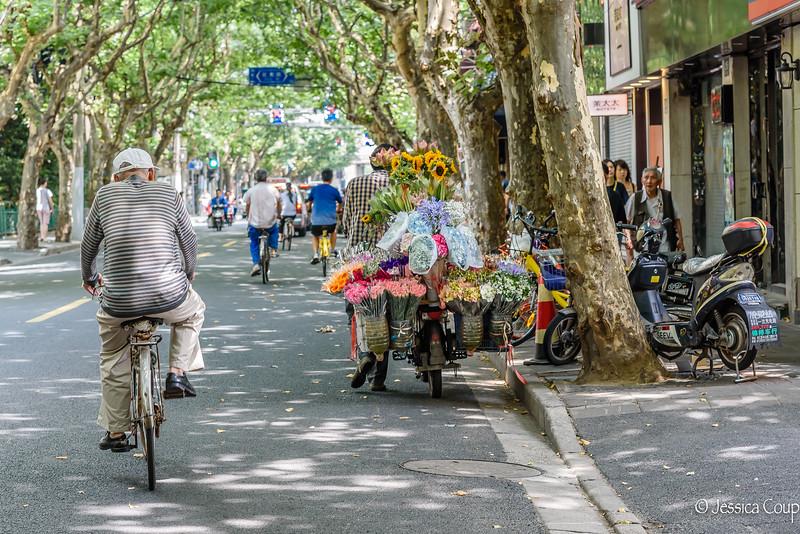 Flower Shop on Two Wheels