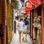 Walking the Tianzifang