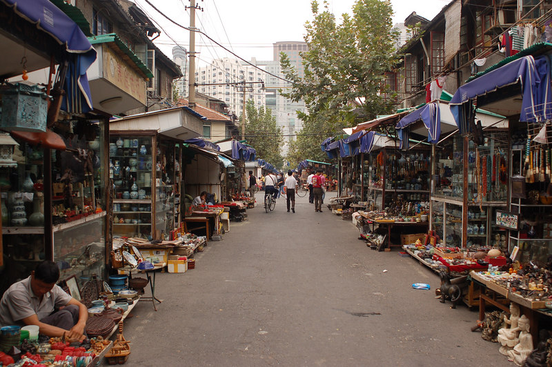 Antique market - Shanghai