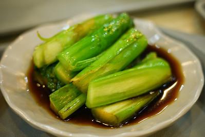 Green veggies in Shanghai, China