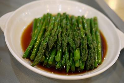 Steamed veggies in Shanghai, China