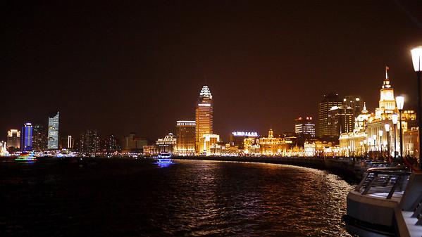 The Bund in Shanghai, China