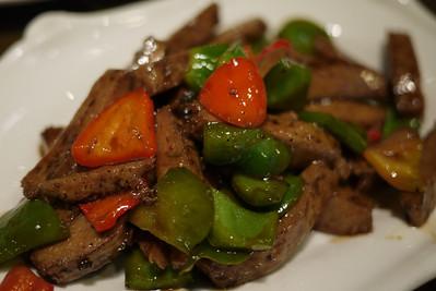 Vegetarian dish in Shanghai, China