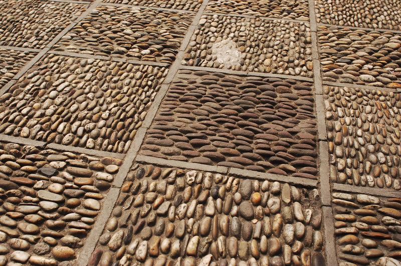 Tile floor of Yuyuan Gardens