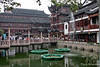 Yuyuan Gardens pond and buildings