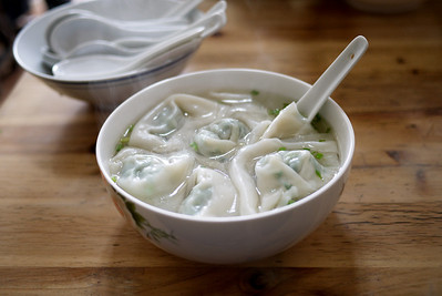 """Pork-a-licious """"vegetarian"""" soup in China!"""