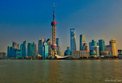 Shanghai-Skyline-HDR-Day