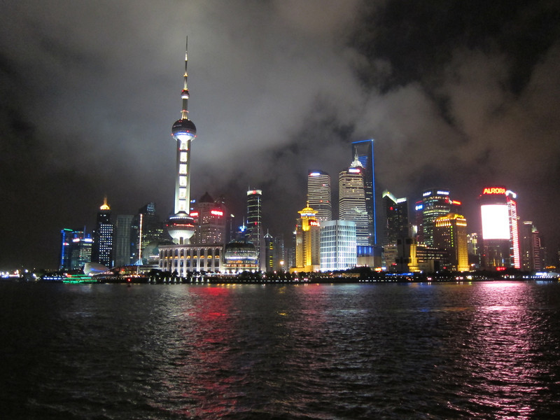 Pudong, Shanghai. Everyone takes this picture :-)