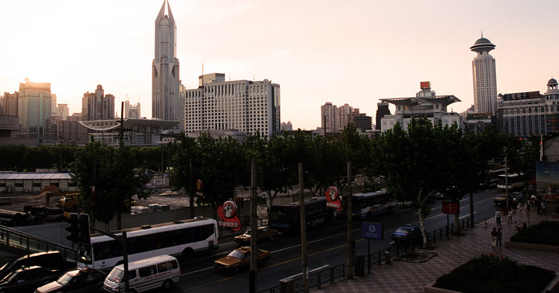 People's Square, downtown Shanghai