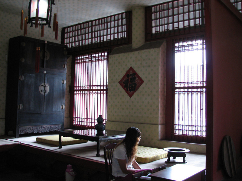 Guanju Palace receiving room