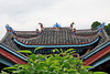 Roof details on Shibaozhai Pagoda