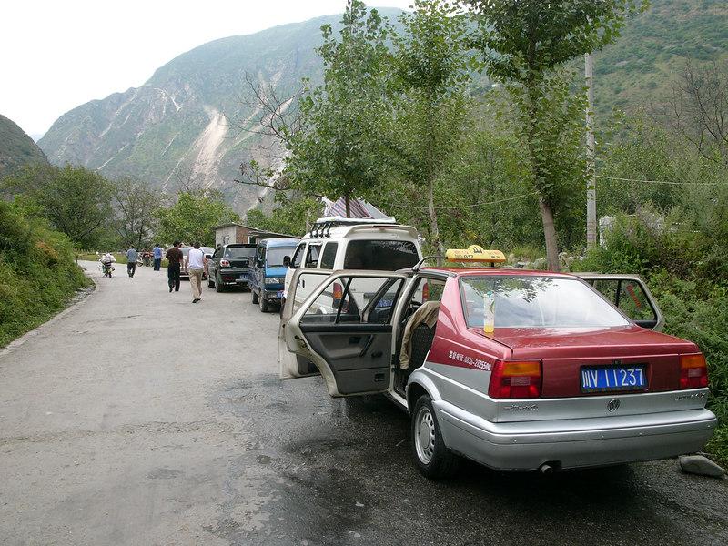 Road to Danba from Kangding 康定到丹巴路上