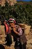 Qiang women working