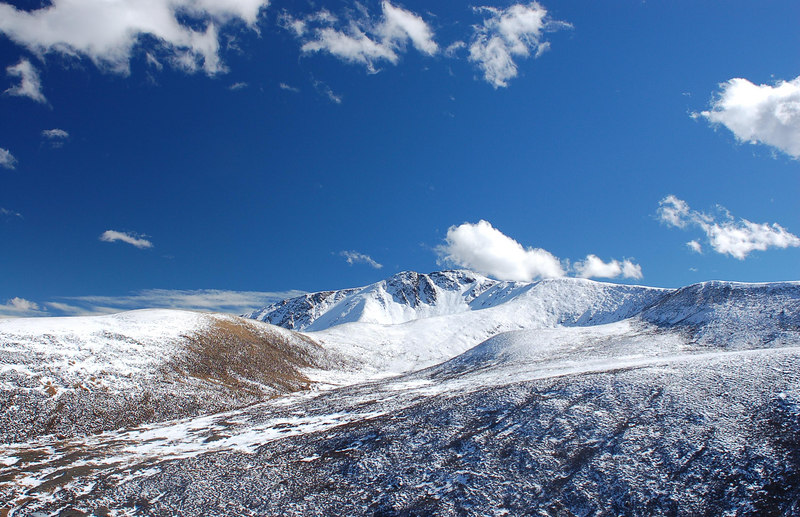 Taken from taxi from Litang to Daocheng at an altitude higher than 4500m