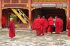 Young monk, Nanhu Monastery