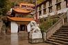 Courtyard of Nanhu Monastery
