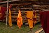 Clothes line, Nanhu Monastery