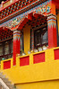 Bright yellow of Nanhu Monastery