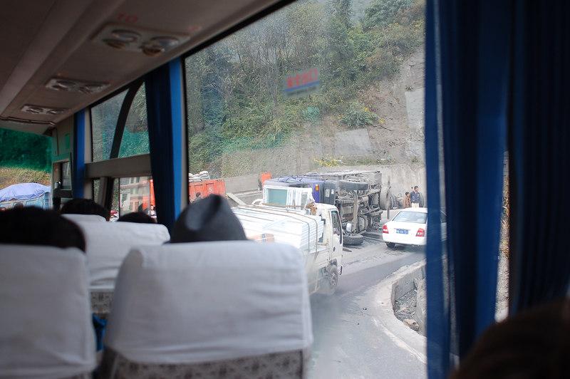 Treacherous highway to Songpan