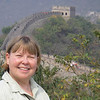 Finally, our trip ended with a walk on the Ming Dynasty Great Wall outside Beijing.
