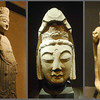 Here are more lifesize stone Buddhas.  These are in the Beilin, or Forest of Stelae, Museum in Xi'an.