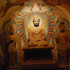 Here is a grotto and Buddhas (lifesize) that have been moved to the Gansu Provincial Museum in Lanzhou.