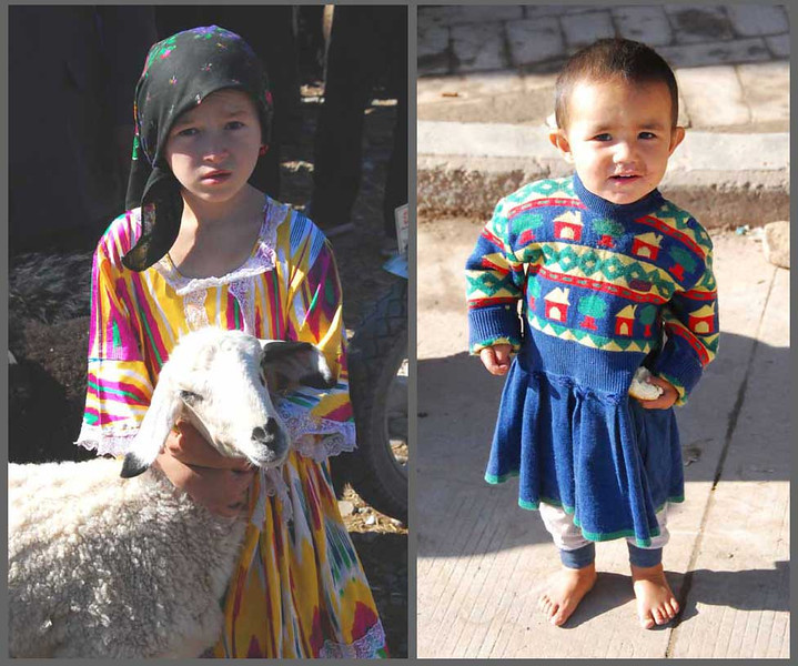 Uyghur children are always cute.