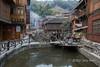 Street scene, Zhaoxing Dong village, Guizhou Province, China
