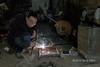 Another shot of the welder, Rongjiang market, Guizhou Province, China