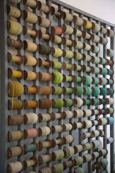 Silk Threads, Factory, Shanghai, China