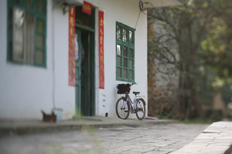 Bicycle, Yang Shuo, China