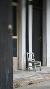 Chair, Zhou Zhuang Watertown, China