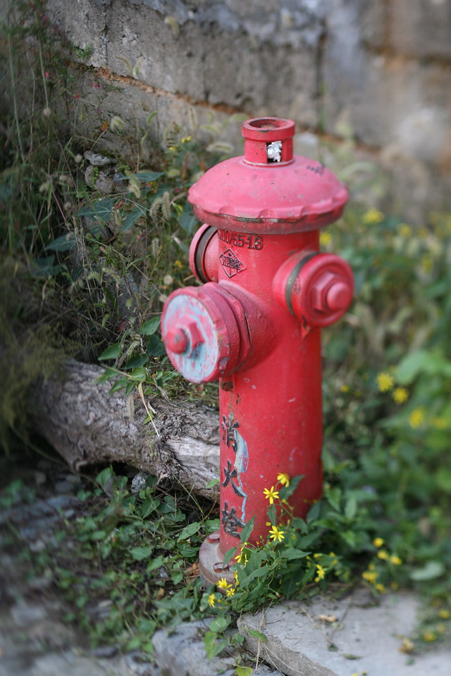 Hydrant, Hong Village, near Huangshan, China