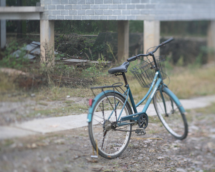 Blue Bicycle, Yang Shuo, China